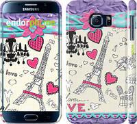 "Чехол на Samsung Galaxy S6 G920 Париж 45 ""2403c-80"""