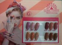 Коллекционный гель-лак Global Fashion Серии «G» №001-012 (10 мл)