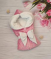 Зимний конверт на выписку, конверт-трансформер в коляску, конверт-одеяло на выписку, детский плед