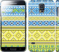 "Чехол на Samsung Galaxy S5 Duos SM G900FD Вышиванка 40 ""1174c-62"""