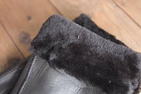 Мужские перчатки темно-коричневый Виктор 894 размерL, фото 2