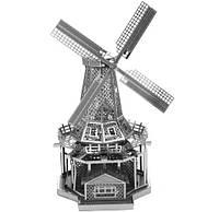 Металлический 3D конструктор Мельница