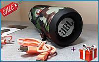 JBL Flip 4 Портативная Bluetooth колонка влагозащита, microSD,MP3,MP4,FM качественная реплика камуфляж