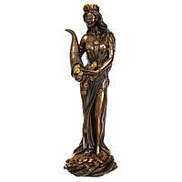 L-75416 A4 Статуэтка Фортуна богиня изобилия Veronese Италия 18 см