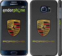 "Чехол на Samsung Galaxy S6 G920 Porsche 1 ""977c-80"""