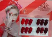 Колекційний гель-лак Global Fashion Серії «E» №001-012 (10 мл)