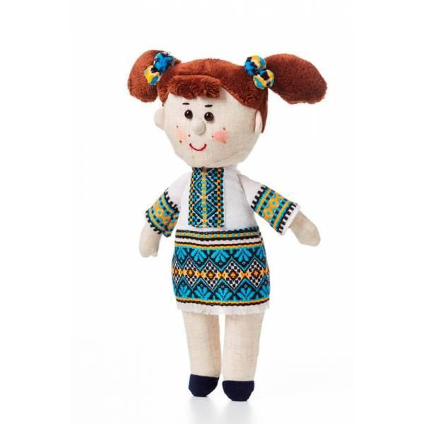 Мягкая игрушка девочка-украиночка