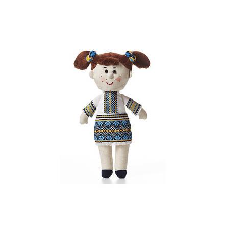 Мягкая игрушка девочка-украиночка, фото 2