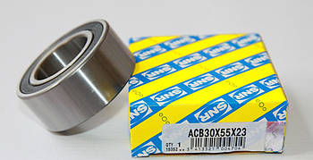 Подшипник компрессора кондиционера (35x52x23) (ACB30X55X23) SNR