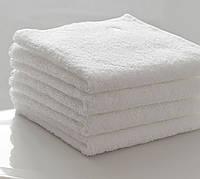 Махровое полотенце белое 20 шт. 30х50 LOTUS  VAROL