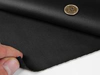Биэластик тягучий черный гладкий (bl-4) для перетяжки дверных карт, стоек, airbag и вставок, шир 1,60м