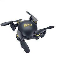 Квадрокоптер Q2 mini Qfx Black - мини дрон с камерой, FPV и барометром