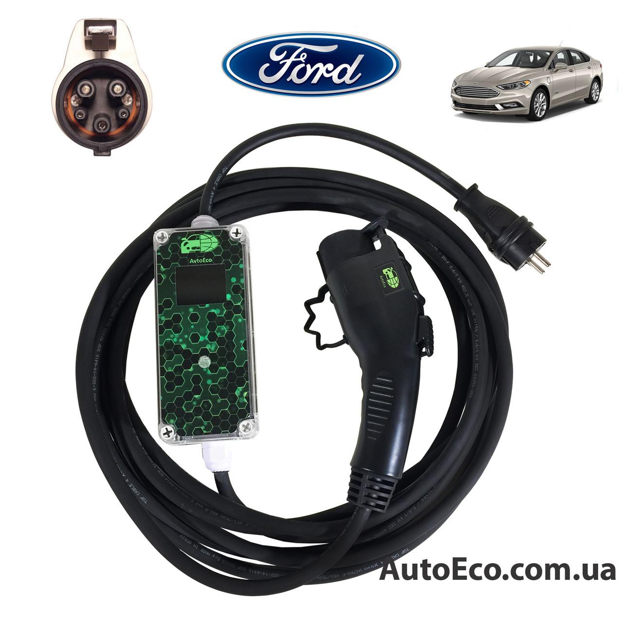 Зарядное устройство для электромобиля Ford Fusion Energi AutoEco J1772-16A-Wi-Fi, фото 1