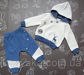 Детский спортивный костюм Олененок для мальчика на 9-12 месяцев