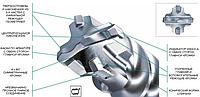 _Профессиональные буры HiKOKI Hitachi  для перфораторов под хвостовик SDS-Max с 4-мя режущими кромками диаметром 12 - 52 мм