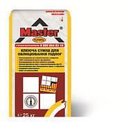 MASTER Plitopol, клей для плитки 25 кг (для теплых полов)