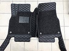 Комплект ковриков из экокожи для Toyota Prado 150, от 2016 года, на 5/7 мест, фото 3