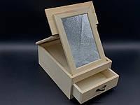 Комод-органайзер для розписи. Зеркало. 19,5х15х8,5см
