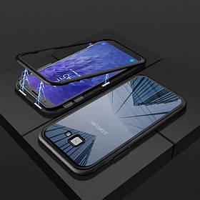 Магнитный чехол (Magnetic case) для Samsung Galaxy J4 Plus 2018