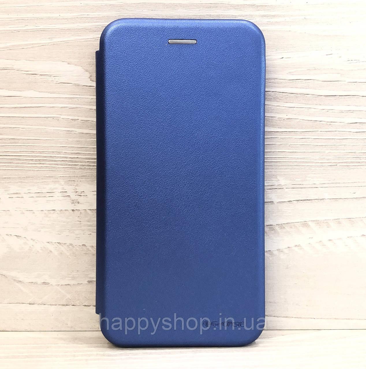 Чехол-книжка G-Case для Samsung Galaxy J8 2018 (J810) Синий