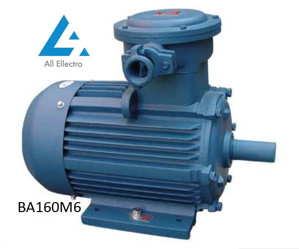 Взрывозащищенный электродвигатель ВА160М6 15кВт 1000об/мин
