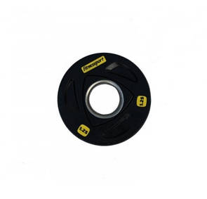 Блин (диск) для штанги обрезиненный 1,25 кг (52 мм)