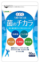 Комплекс для здоровья ЖКТ, сохранения молодости и красоты на 3 месяца применения Япония