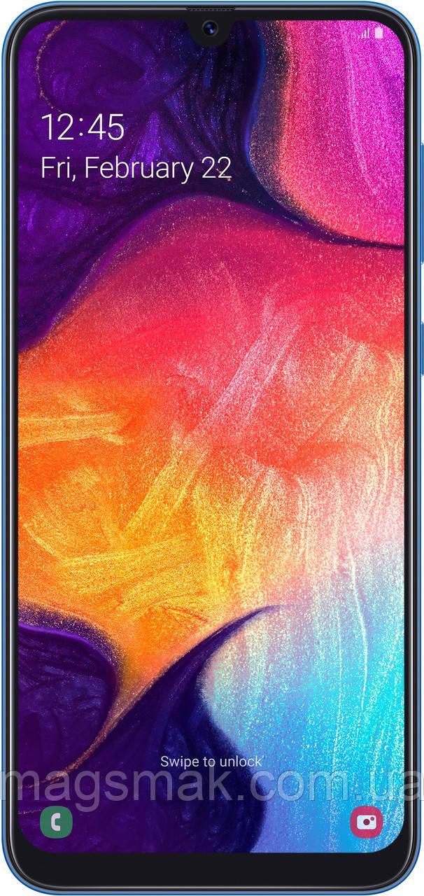 Смартфон Samsung Galaxy A50 6/128 Blue