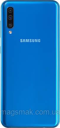 Смартфон Samsung Galaxy A50 6/128 Blue, фото 2