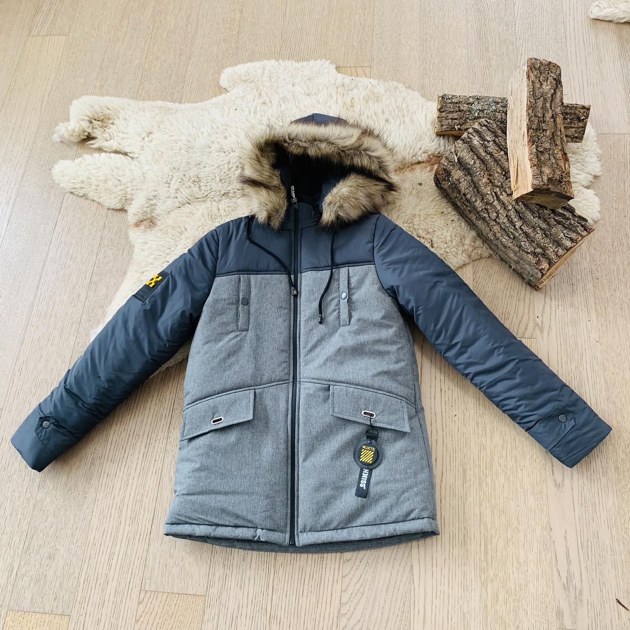 Зимняя куртка на мальчика 11-15 лет, 3030