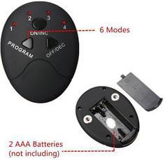 SALE! Миостимулятор бабочка электронный массажер EMS-1, фото 3
