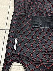 Комплект ковриков из экокожи для Mercedes GL X164, на 5/7 мест, фото 2