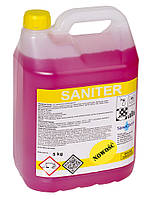 Кислотное моющее средство для ухода за ванными и туалетными комнатами SaneChem SANITER, 5 кг