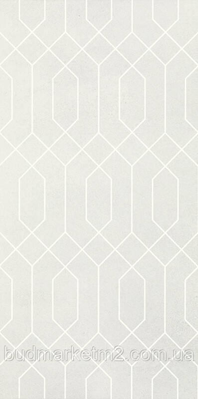 Плитка Paradyz  Taiga Silver Ściana Rekt. Dekor 29.5 x 59.5