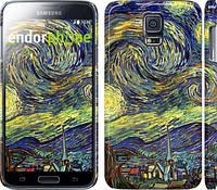 "Чехол на Samsung Galaxy S5 Duos SM G900FD Винсент Ван Гог. Звёздная ночь ""163c-62"""