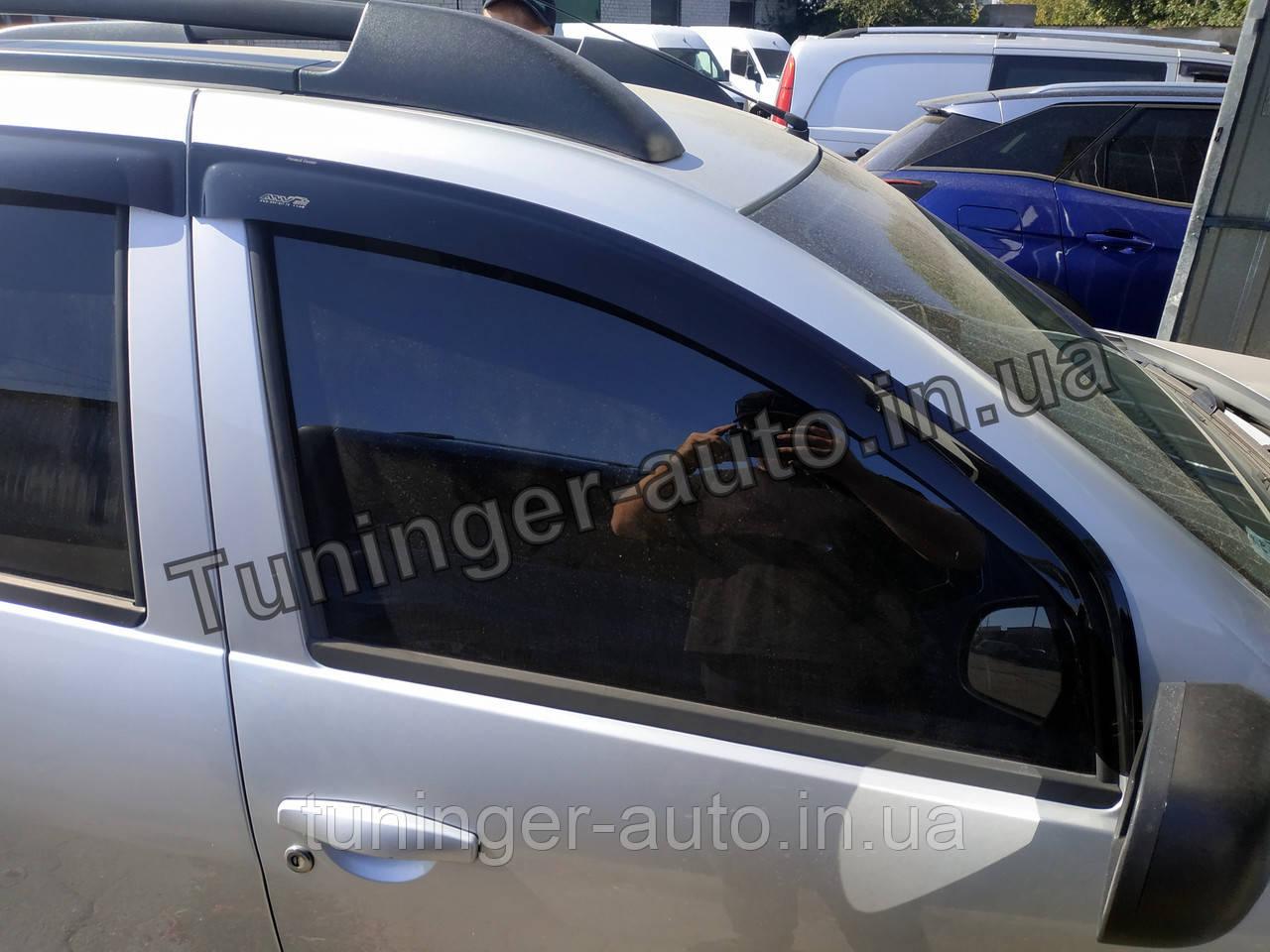 Ветровики, дефлекторы окон Renault Duster 2010-2017 (ANV)
