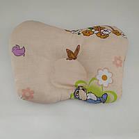 Ортопедическая подушка для новорожденного Бабочка