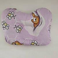 Ортопедическая подушка для новорожденного в кроватку/коляску
