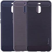 Защитный чехол iPaky Slim с карбоновыми вставками для Meizu M6 Note (выбор цвета)