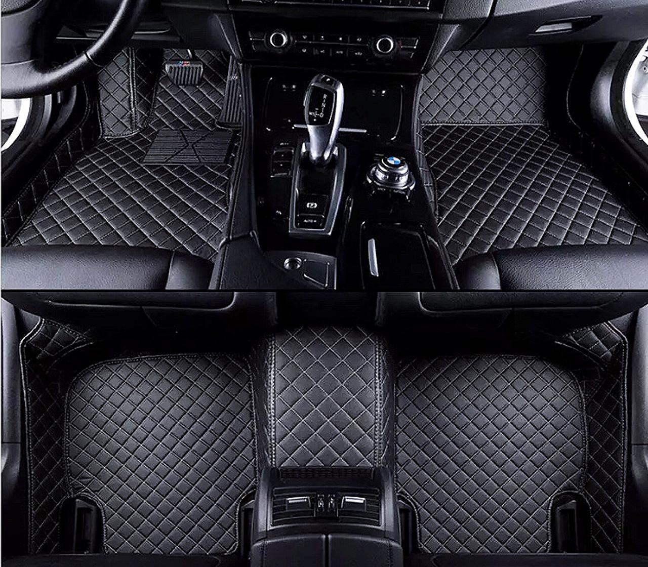 Комплект ковриков из экокожи для Toyota Corolla 10