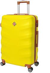 Дорожный чемодан Bonro Next (большой), цвет желтый.
