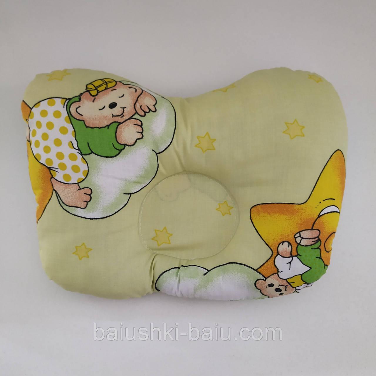 Ортопедическая подушка для новорожденного