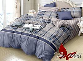 Комплект постельного белья семейный с компаньоном S261 ТМ TAG постельное белье семейное