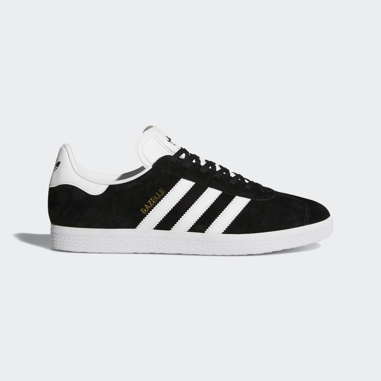 Мужские кроссовки Adidas Superstar Gazelle Black/White Черно-Белые