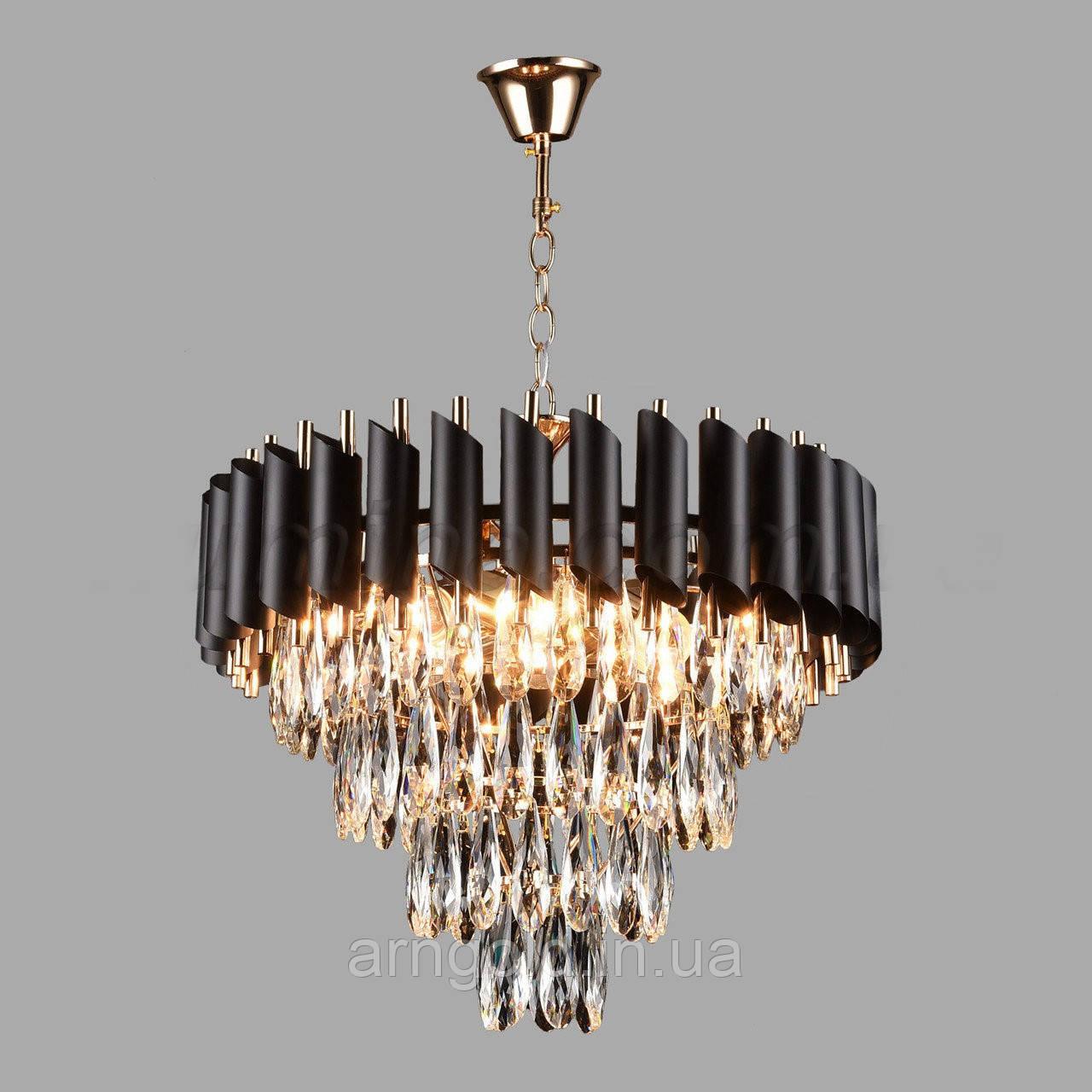 Подвесная люстра хрустальная на шесть ламп 3-E1721/6 D470
