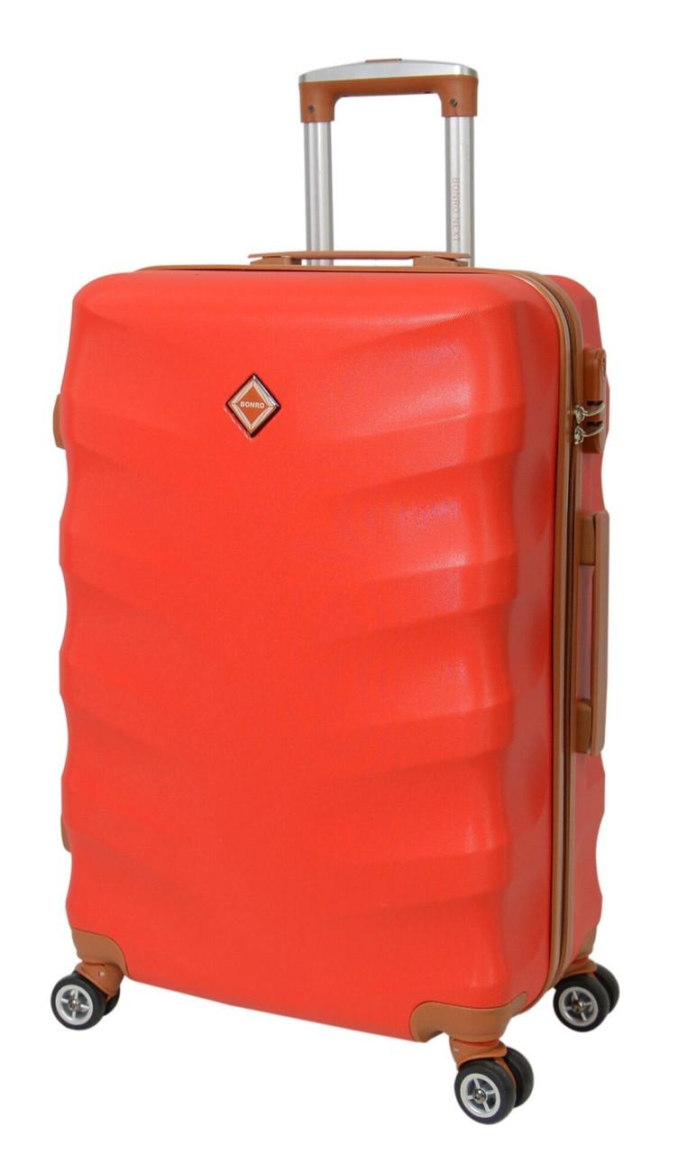 Чемодан Bonro Next (большой), цвет красный.