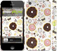 """Чехол на iPhone 5c Пончики 25 """"2404c-23"""""""