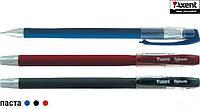 """Ручка гелевая """"Forum"""", красный корпус, красные чернила AG1006-06-А, Axent."""