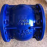 Клапан зворотний осьовий фланцевий T. I. S service (Італія) С087 TIS DN250 PN10 (ДУ250 РУ10) ТІС, фото 2
