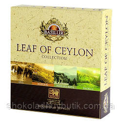 Чай Базилур, Leaf of Ceylon, 40 пак.